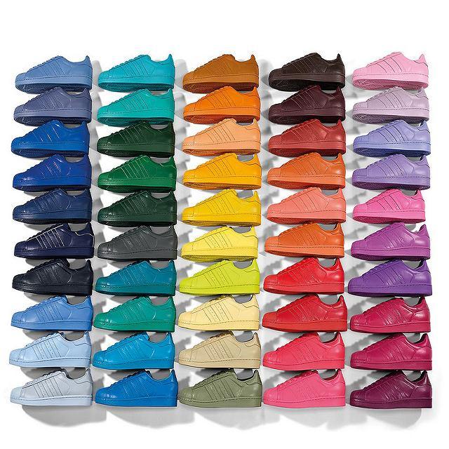 43739354 adidas Originals by Pharell Wiliiams. Kolorowa kolekcja adidasów  zaprojektowana ...