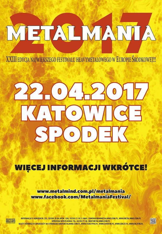 Metalmania - plakat (facebook)