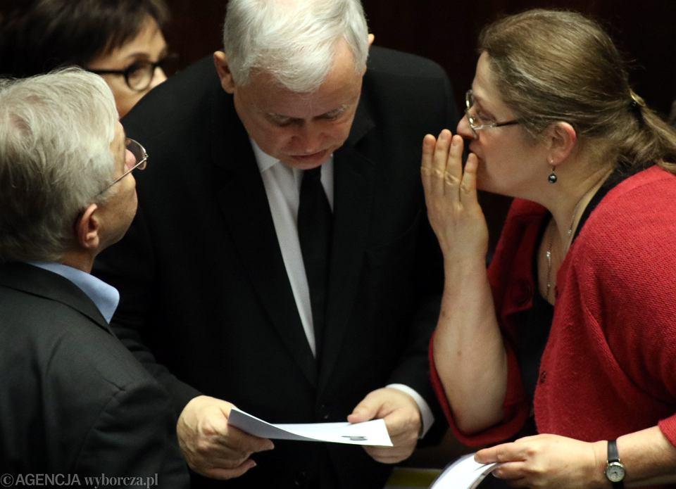 Jarosław Kaczyński i posłanka Pawłowicz są najbardziej znani z jadowitych wypowiedzi