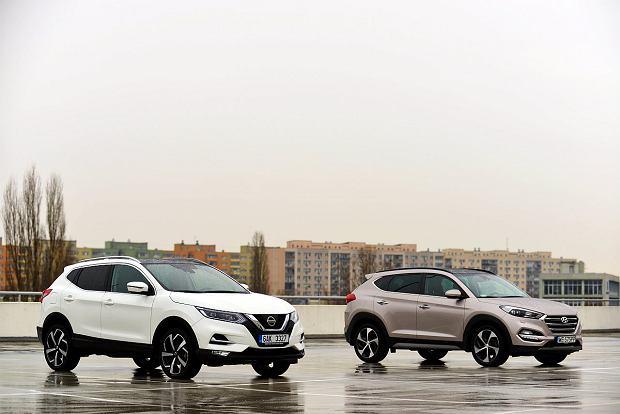 Nissan Qashqai 1.6 dCi vs. Hyundai Tucson 2.0 CRDi
