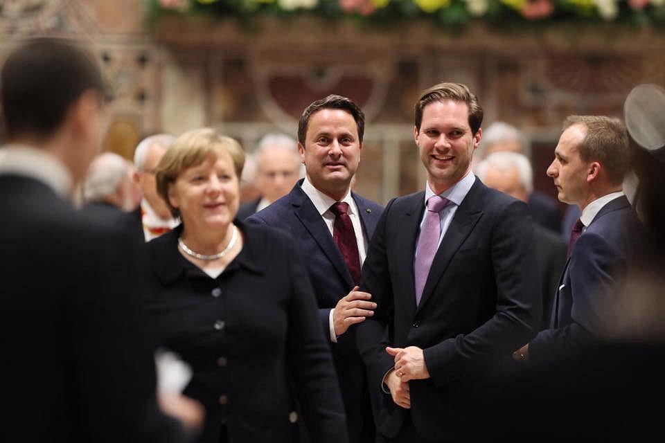 Premier Luksemburga Xavier Bettel z mężem
