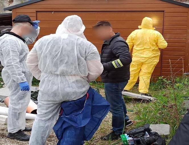 Policja georadarem sprawdzi działkę, na której Tomasz M. buduje dom i gdzie ukrył ciało zamordowanego 11-latka.