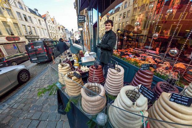 Belgijskie kiełbaski