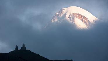 Kaukaz - góra Kazbek