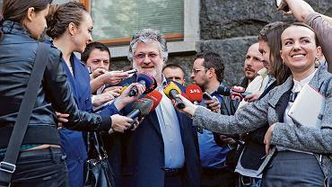 Ihor Kołomojski - majątek szacowany na 1,4 mld dol.: przemysł chemiczny, sektor naftowy, bankowość, telewizja