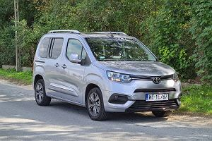 Opinie Moto.pl: Toyota PROACE CITY Verso to dostawczak na każdą okazję