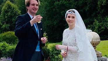 Jordańska księżniczka wyszła za mąż. Jej wybranek ma sławnych dziadków. To pierwszy królewski ślub od wielu miesięcy