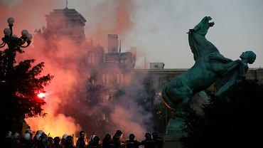 Protesty w Belgradzie 7-8 lipca