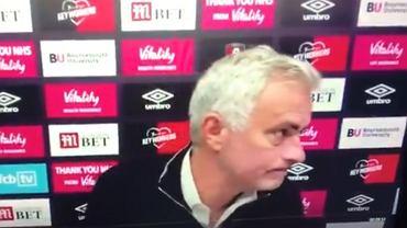 Jose Mourinho wyszedł z konferencji
