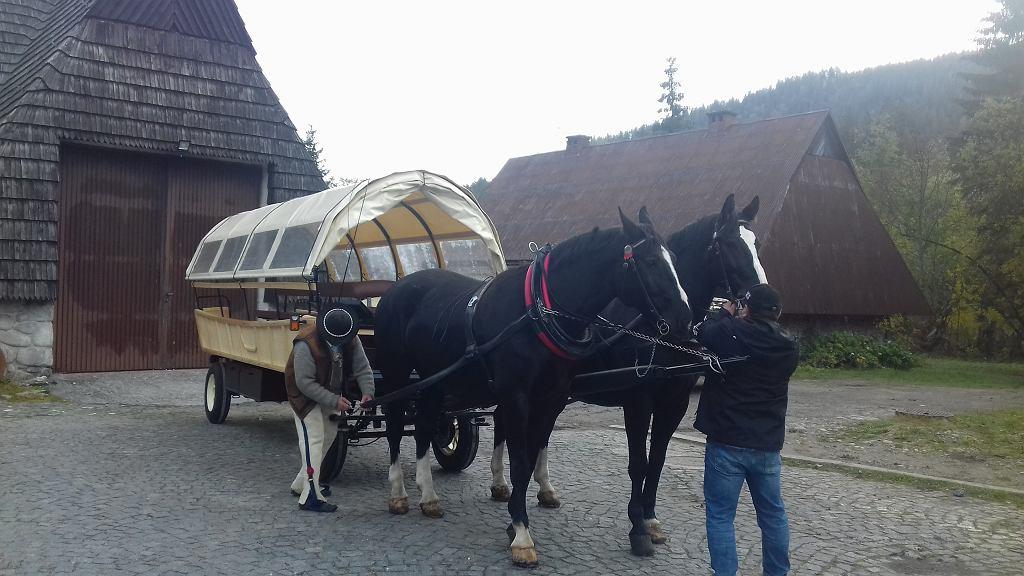Wóz hybrydowy w Tatrzańskim Parku Narodowym