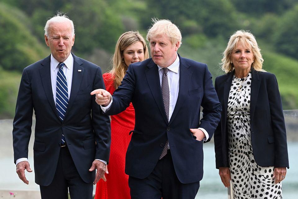 Wizyta Joe Bidena w Wielkiej Brytanii