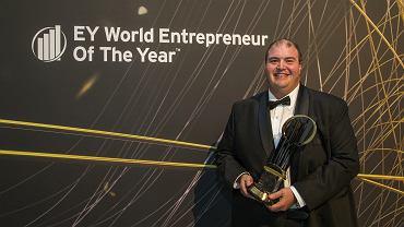 Kanadyjczyk Murad Al-Katib, szef firmy AGT Food and Ingredients, zwycięzca światowego Przędsiebiorcy Roku EY 2017