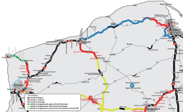 Aktualna mapa S6