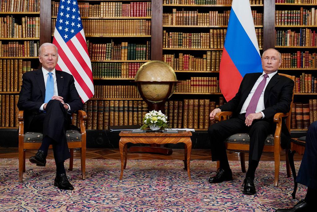 Spotkanie Putin-Biden w Genewie