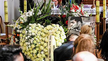 Pogrzeb Dawida Kosteckiego na cmentarzu Pobitno w Rzeszowie