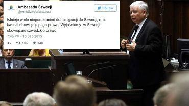 Jarosław Kaczyński o imigrantach podczas debaty w Sejmie