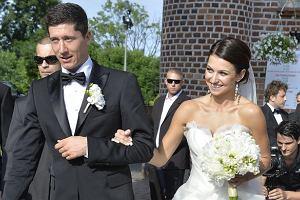 Robert Lewandowski, Anna Stachurska