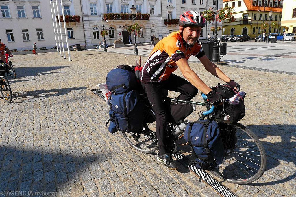 Bernard Milewski przejechał blisko 6,2 tys. km