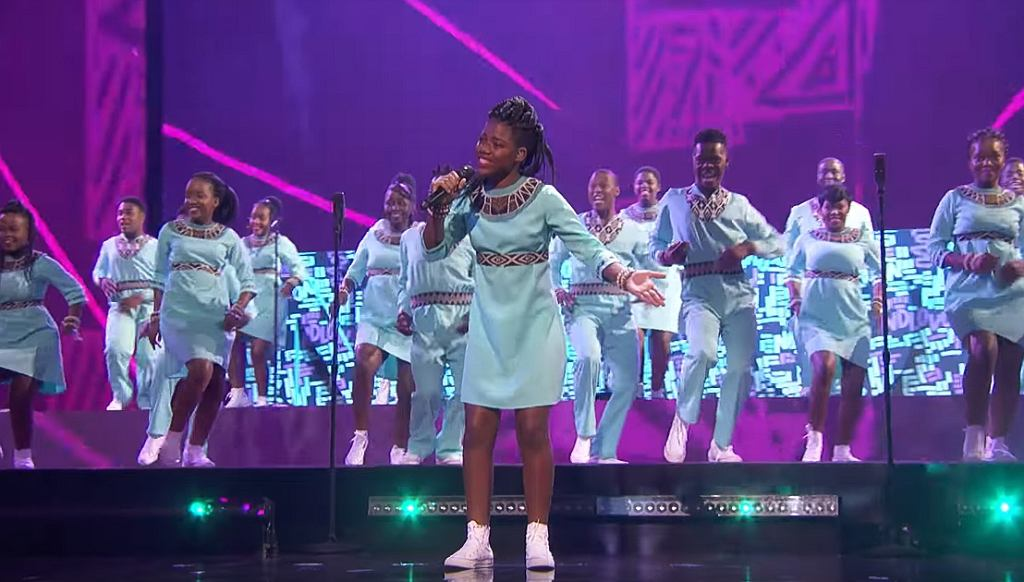 Ndlovu Youth Choir Puts AMAZING Spin On 'Higher Love' - America's Got Talent 2019