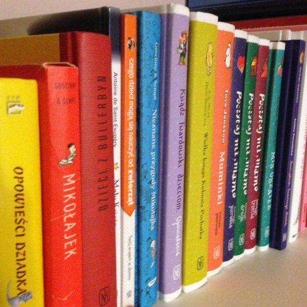 biblioteczka czterolatki, książki dla dzieci