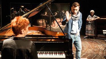 Rejestracja spektaklu 'Madame Pylinska i sekret Chopina' w Teatrze im. J. Osterwy w Gorzowie