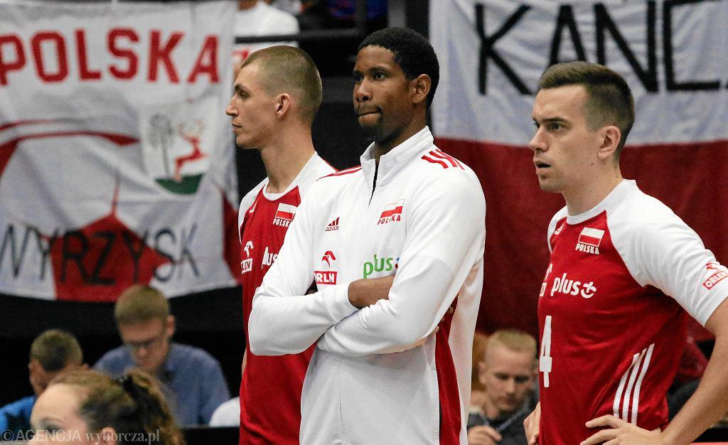 Wilfredo Leon w meczu Polski z Estonią