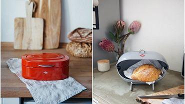 Oryginalny i designerski chlebak na pieczywo łączy funkcję praktyczną z estetyczną.
