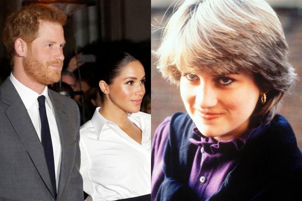 Meghan i Harry, księżna Diana