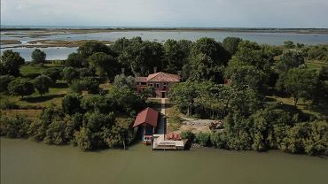 Dom na wyspie Valle Falconera