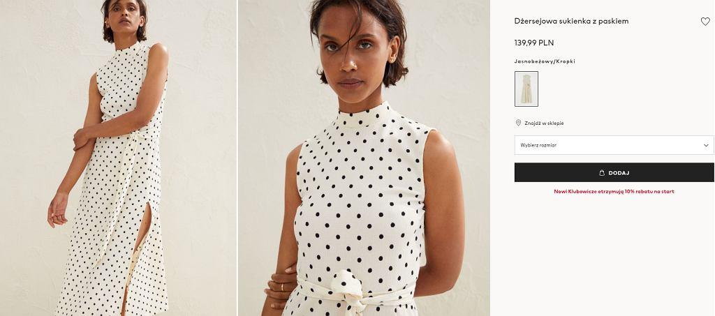 sukienka H&M