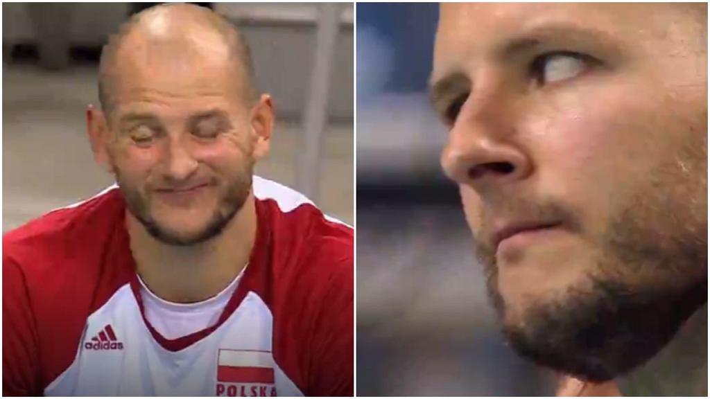 Bartosz Kurek podczas meczu z Norwegią w Krakowie