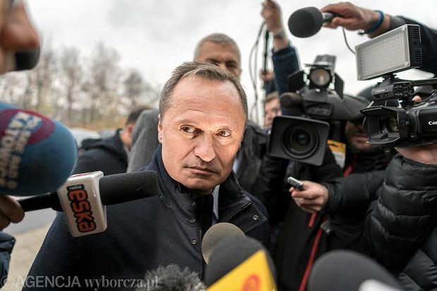 Leszek Czarnecki w prokuraturze ws. afery KNF