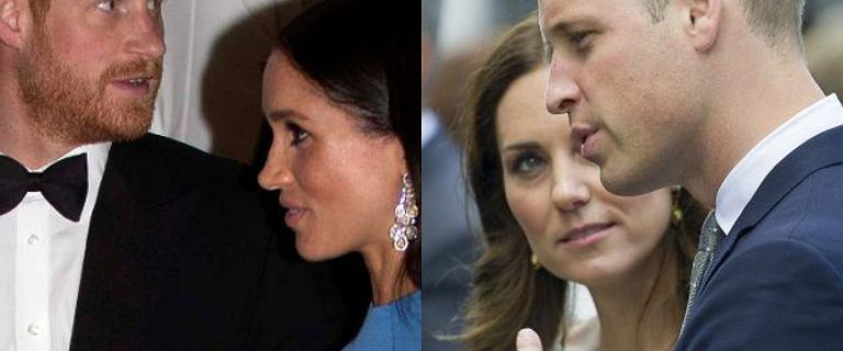 Książę Harry i Meghan wyporwadzają się z Kensington.