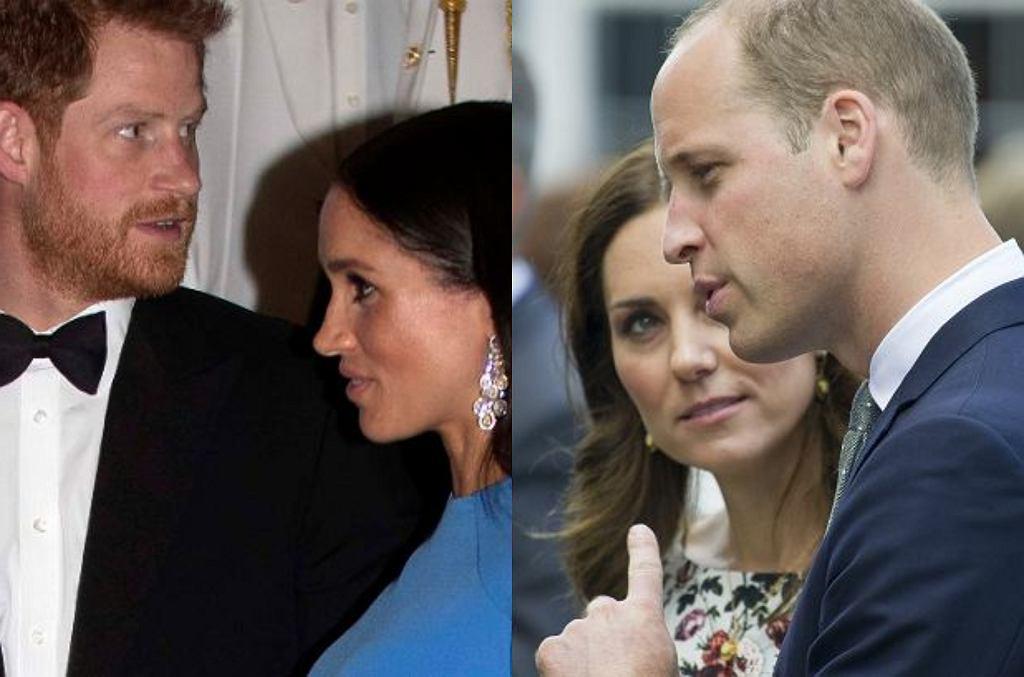 Książę Harry, Meghan Markle, książę Harry, księżna Kate