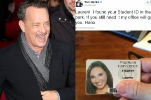 Tom Hanks i jego wpis