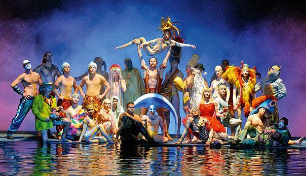 Ale cyrk - Cirque du Soleil, logo z klasą, Cirque du Soleil