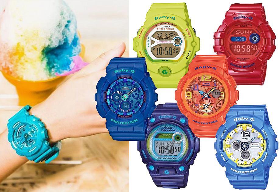 Najmodniejsze modele zegarków G-Shock