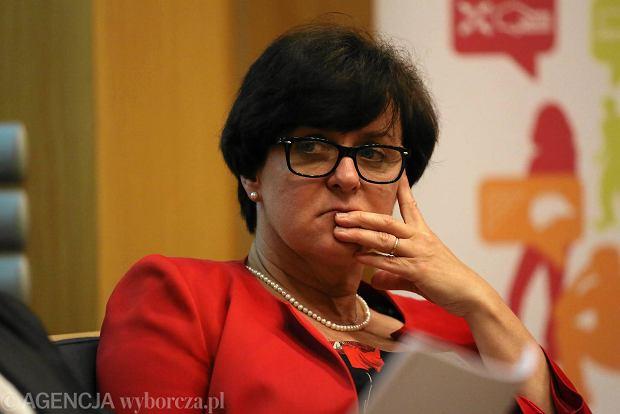 Minister edukacji narodowej Joanna Kluzik - Rostkowska