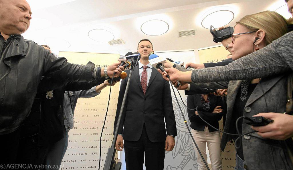 Mateusz Morawiecki, wicepremier i minister finansów