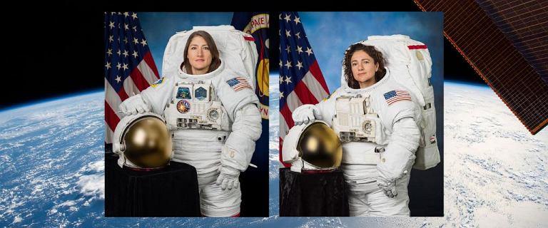 Pierwszy kosmiczny spacer dwóch kobiet. NASA pokazała akcję na YouTubie