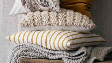Bawełniana poduszka w sowę, 29,90 zl, H&M Home