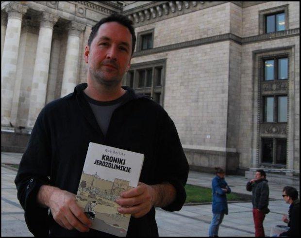 Guy Delisle w Warszawie