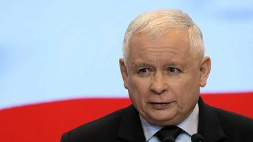 Konferencja prasowa Jarosława Kaczyńskiego