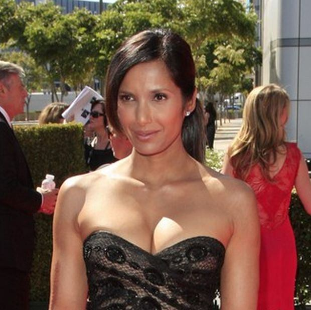 Padma Lakshmi at the Academy Of Television Arts & Sciences 2012 Creative Arts Emmy Awards held at Nokia Theater L.A. LIVE in Los Angeles, California on 15.9.2012  Credit: Martin Smith/face to face    fot. Face to Face/REPORTER