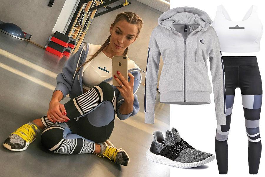 Bluza Adidas na trening / fot. Ewa Chodakowska (Instagram) / mat. partnera