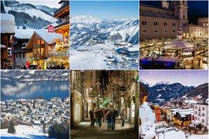 Narty, snowboard, biegówki i... termy w Austrii. Najlepsze ośrodki narciarskie blisko przepięknego Salzburga