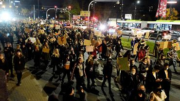 Strajk Kobiet w Olsztynie