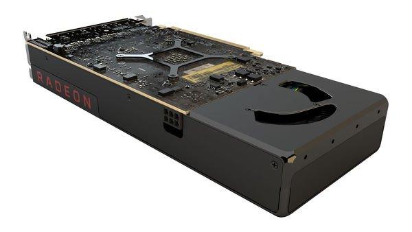 Karta AMD RX480 - wizualizacja