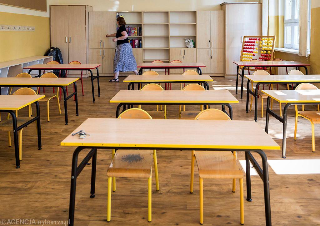 Szkoła w czasie epidemii koronawirusa