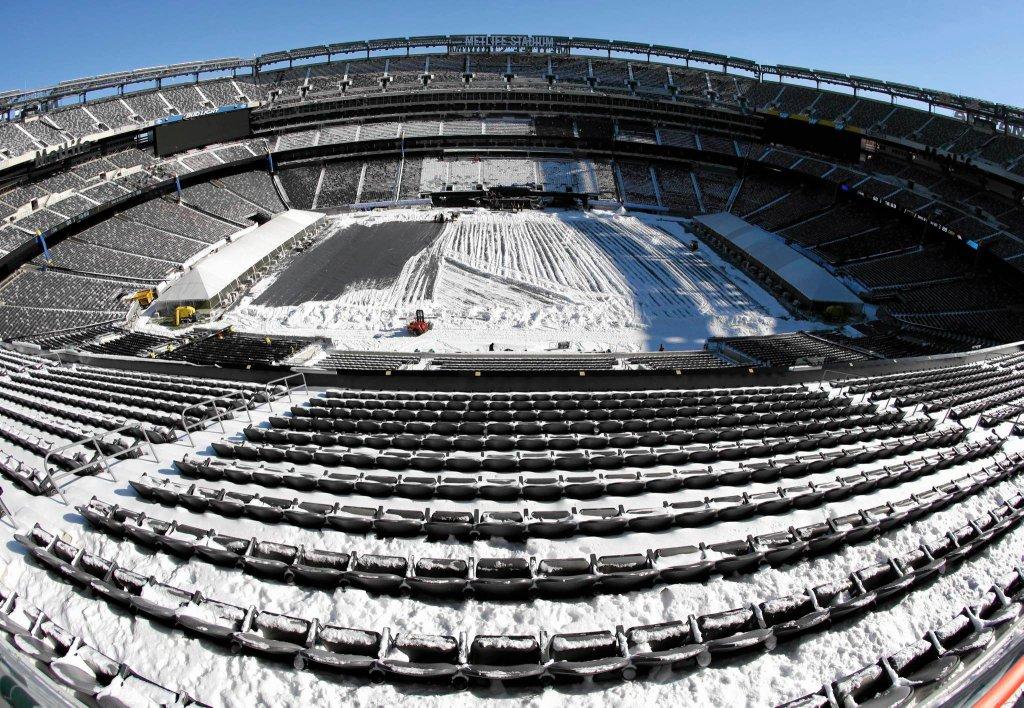 Stadion MetLife, gdzie odbył się Super Bowl w 2014 r.